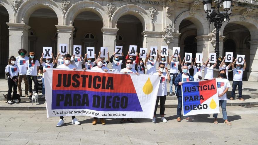 Unidas Podemos llevará al Congreso el fallecimiento del coruñés Diego Bello