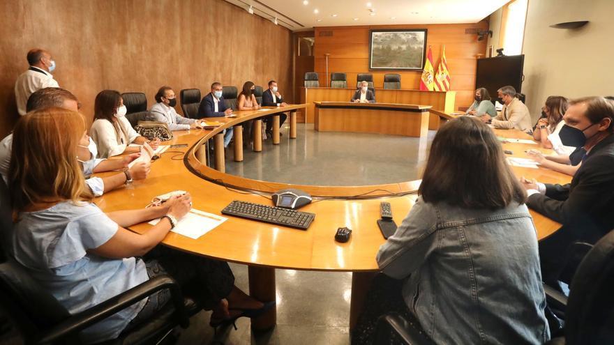 Cs Aragón vuelve a mostrar su voluntad de apoyar los presupuestos de 2022