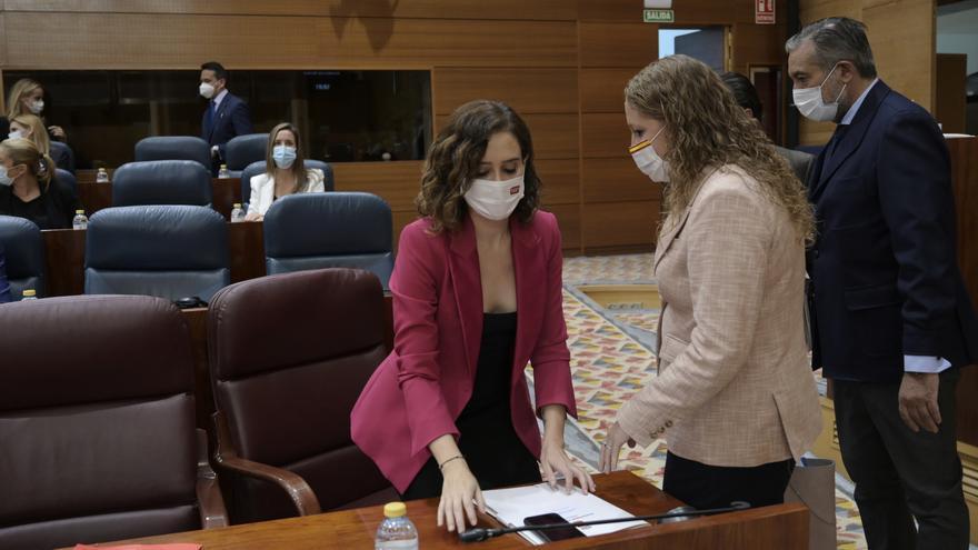 Las mascarillas dejarán de ser obligatorias en los recreos de los colegios de Madrid