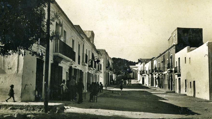 L'Eivissa on va néixer 'Pep Negre'