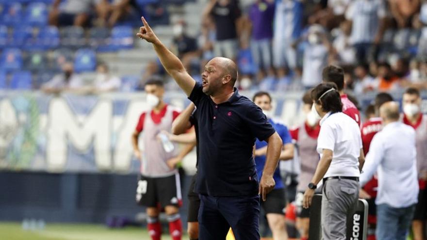 """José Alberto: """"Un gol en la primera parte hubiese cambiado el partido"""""""