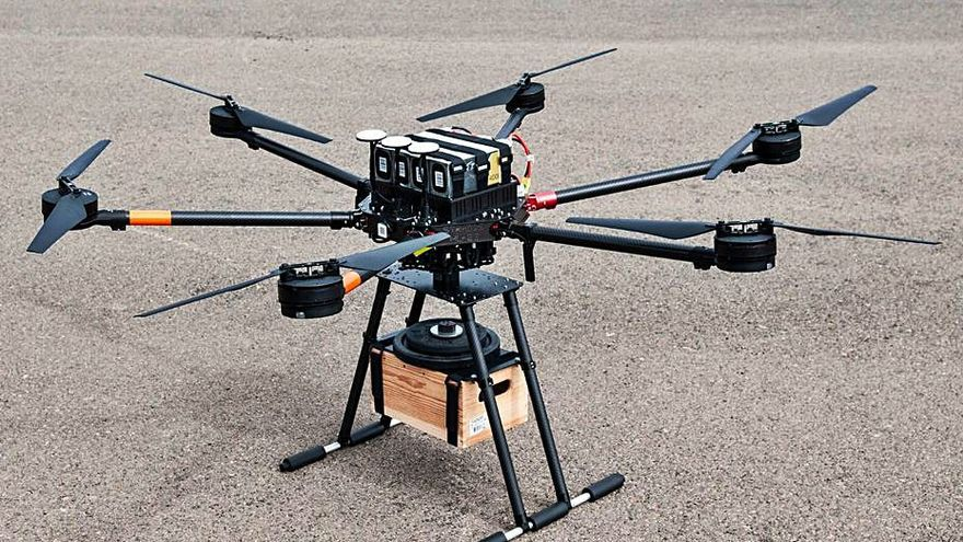 El Puerto contará con un servicio de transporte en drones de mercancía ligera