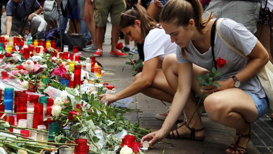 Mor una dona alemanya de 51 anys que va resultar ferida en l'atemptat de la Rambla