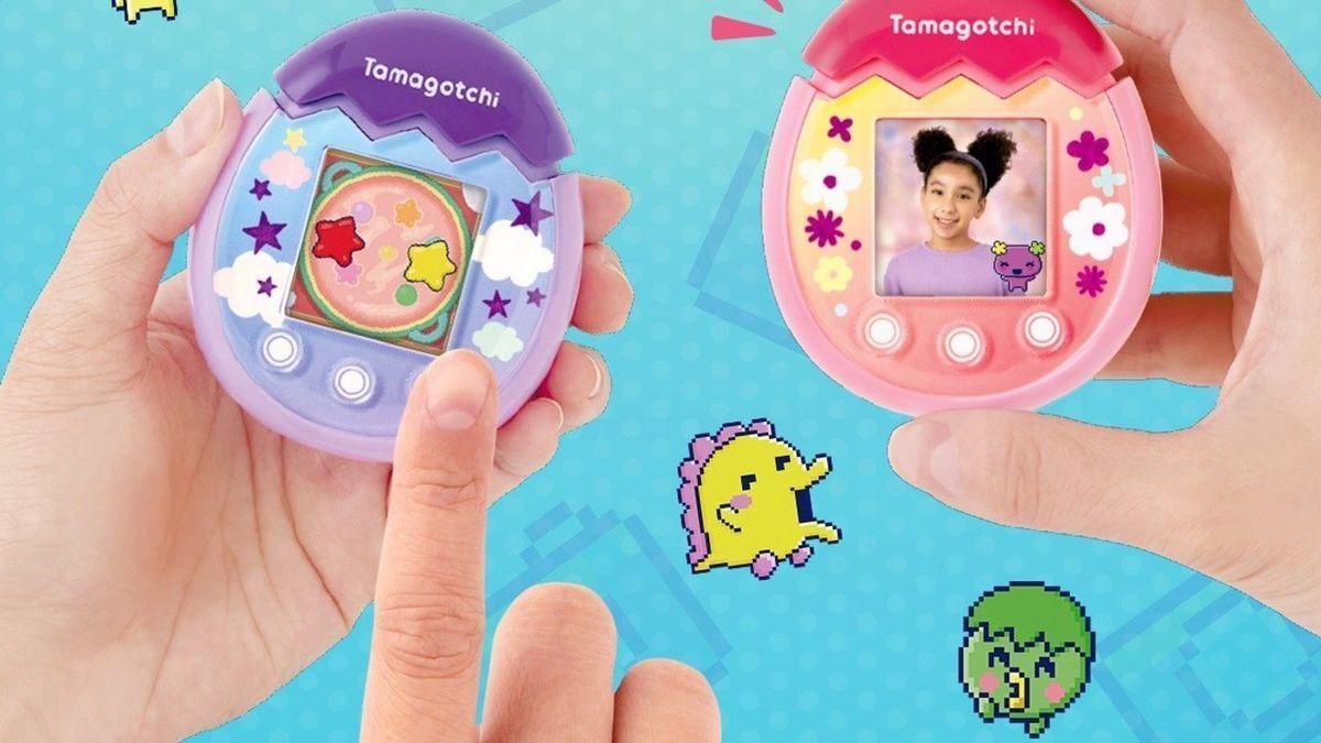 Torna el Tamagotchi: renovat amb càmera, pantalla a color i botons tàctils