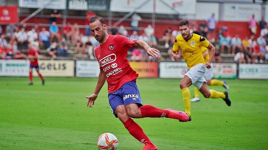 Dolç debut de l'Olot a Tercera