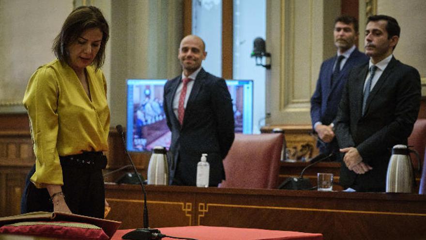 Cs certifica la expulsión de la concejal de Santa Cruz de Tenerife Evelyn Alonso
