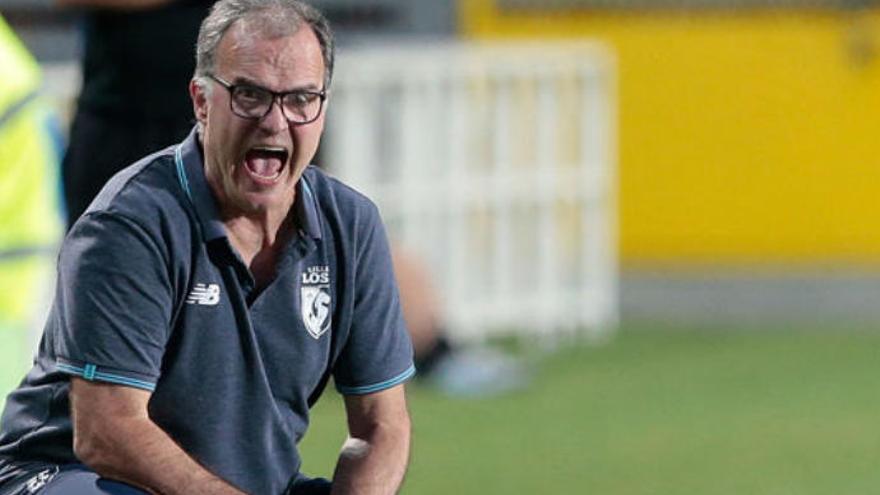 El Loco Bielsa, nuevo técnico del Leeds, rival veraniego de la UD
