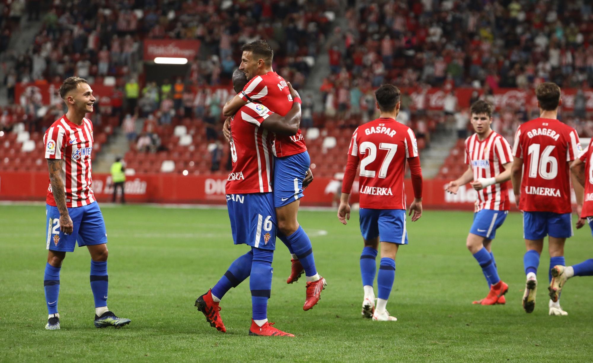 EN IMÁGENES | Así fue la victoria del Sporting ante el Leganés