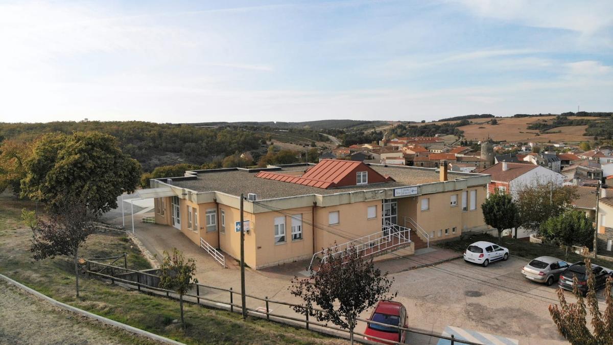 Centro de salud de Alcañices.