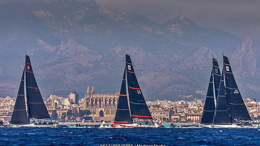Puerto Portals calienta motores para las 52 Super Series Sailing Week