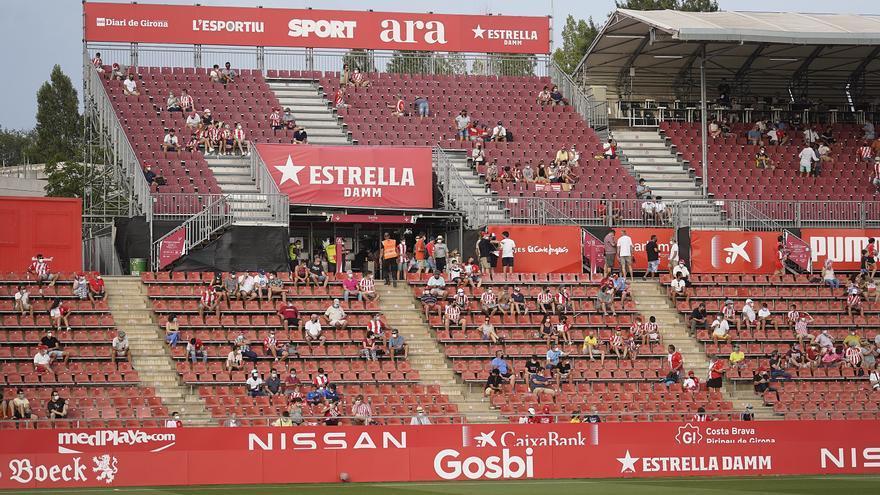 El Girona - Amorebieta, en imatges