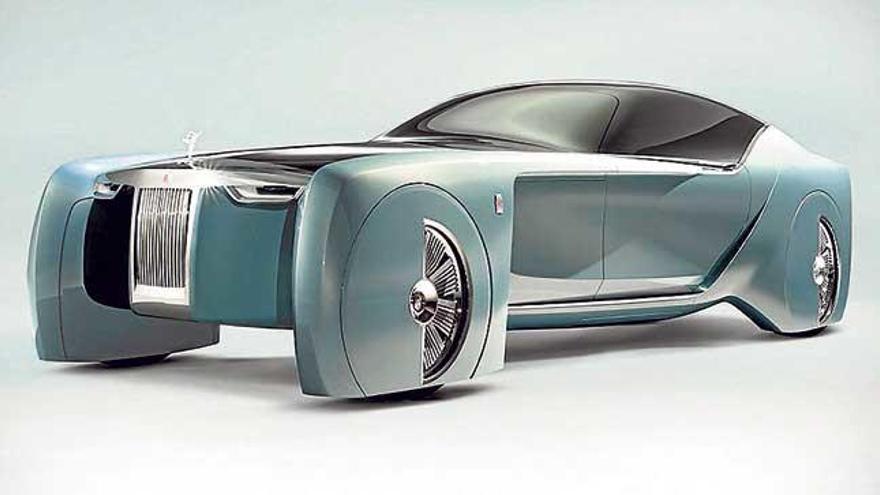 Rols Royce Vision Next 100 Concept