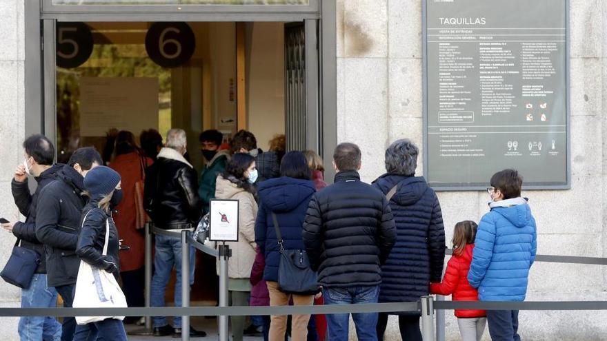 Las visitas a los museos se desploman un 70% en 2020