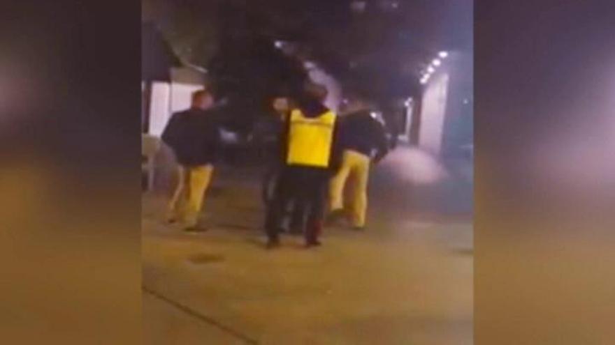 Sale del coma el joven agredido por un portero de discoteca en Murcia