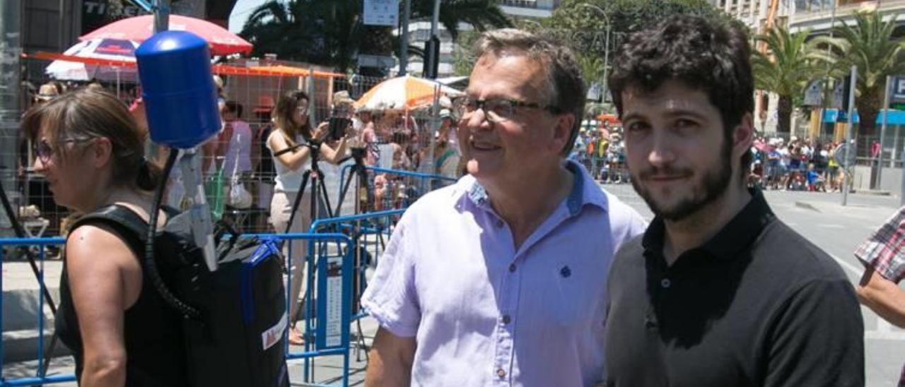 Estañ y Pascual Pérez, de Podemos.