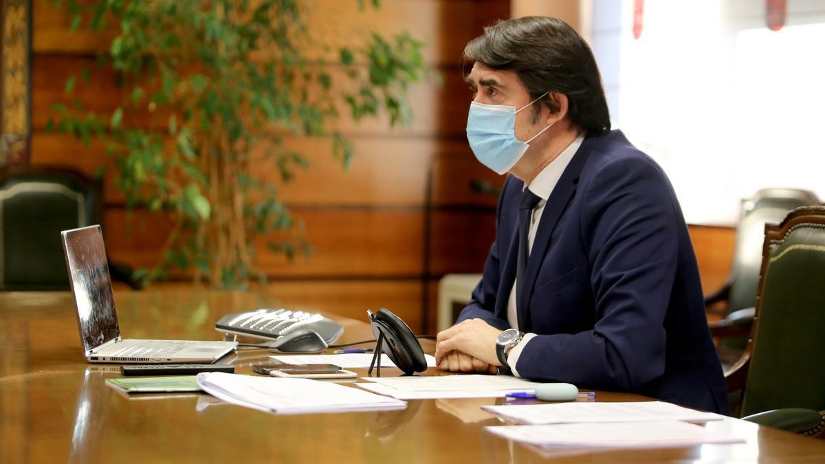 Juan Carlos Suárez Quiñones, consejero de Fomento y Medio Ambiente de Castilla y León.