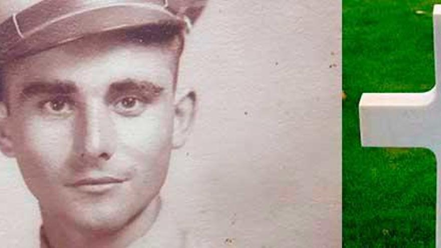 El oleirense que murió en Normandía