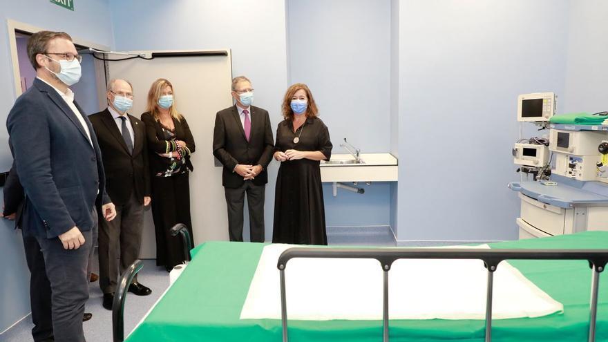 Presentan un renovado hospital de la Cruz Roja
