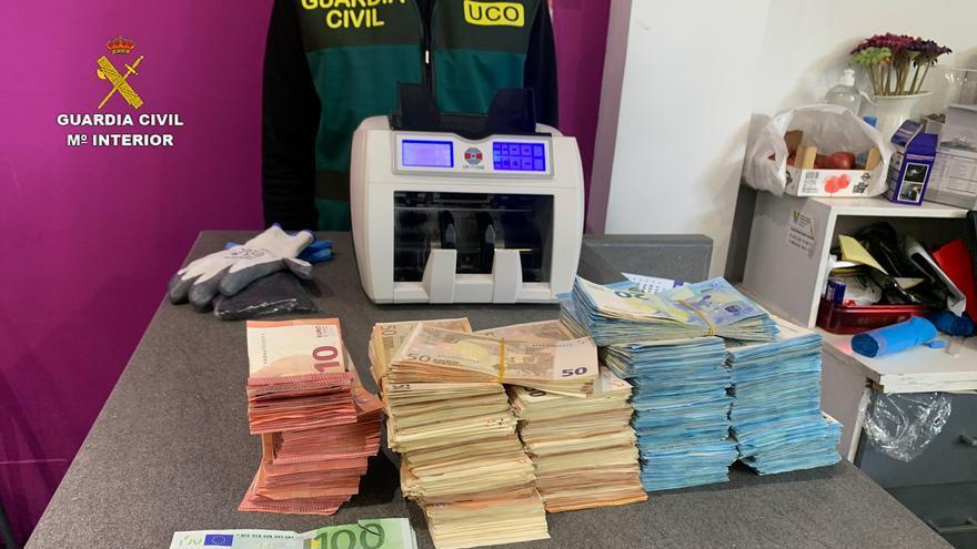 Más de 20 detenidos en Alicante y otras cuatro provincias por blanquear para redes de narcos