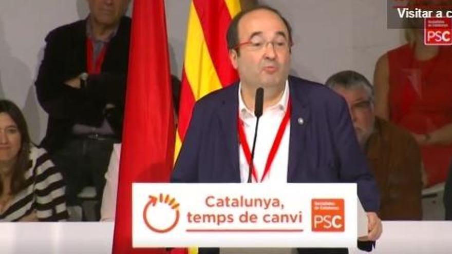 VÍDEO: Miquel Iceta: 'Go, Hillary, go! For goodness' sake, go for it!'