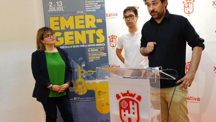 La segona edició d´Emergents arriba al Conservatori Lluís Milan de Xàtiva