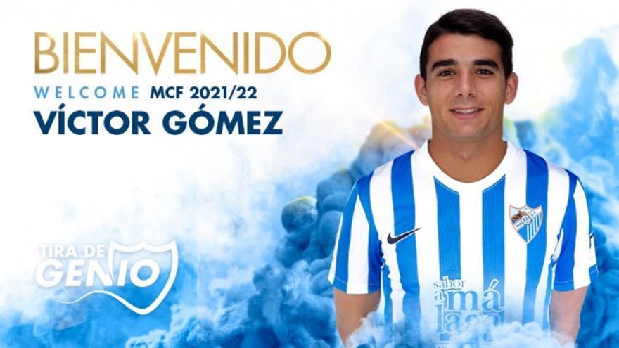 OFICIAL: Víctor Gómez llega cedido al Málaga CF