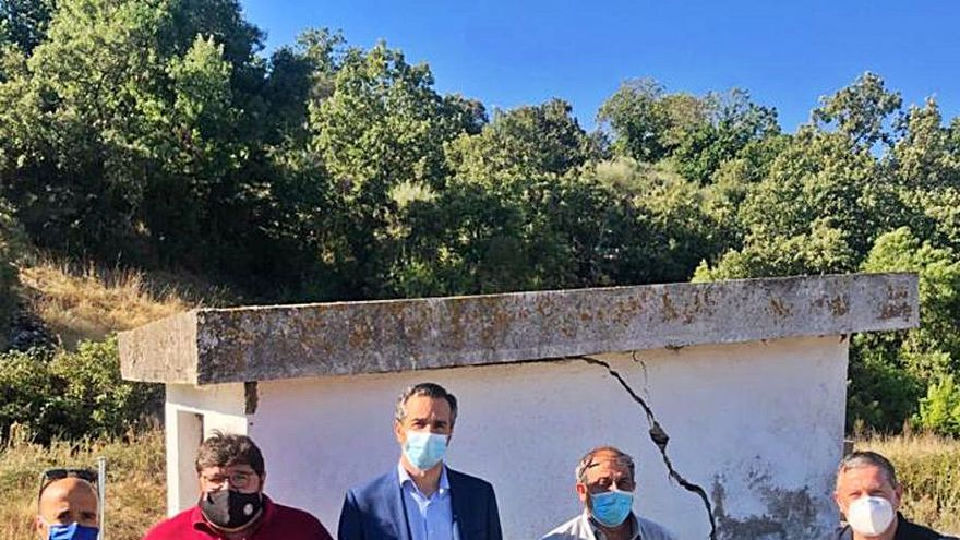 Bercianos sellará el depósito para evitar fugas de agua y garantizar el servicio