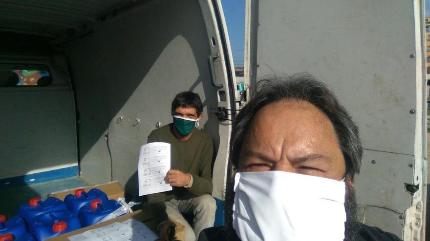 Els micropobles donen 20.000 mascaretes a residències i hospitals
