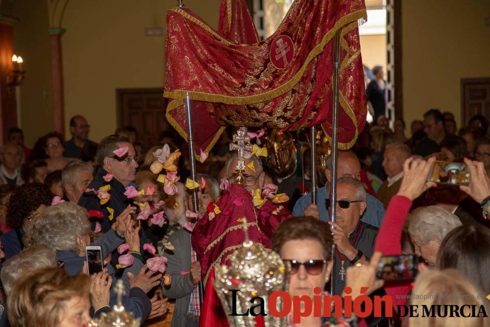 La Cruz de Impedidos pasa por el convento del Carm