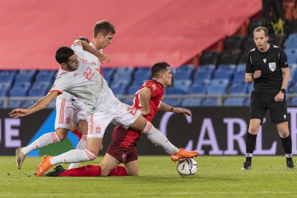 Suiza - España (1-1)