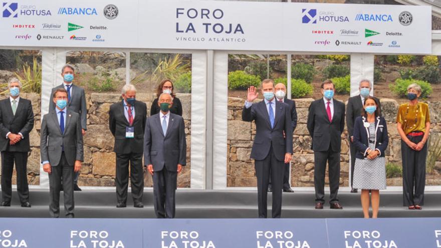 En directo | El Rey inaugura el Foro de La Toja