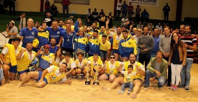 Unión Sur Yaiza, campeón de Copa de lucha canaria