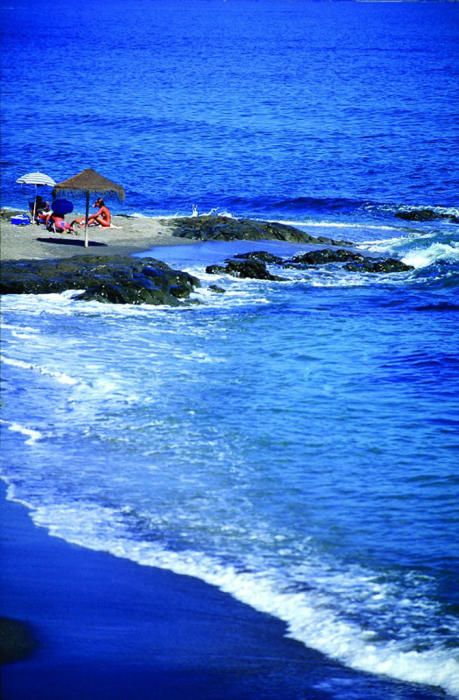 La playa de Calahonda, en Mijas.