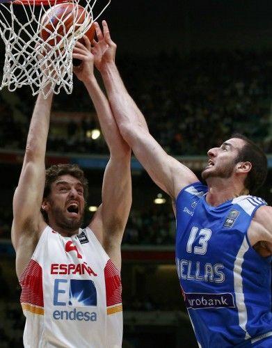 Eurbasket 2015: España - Grecia