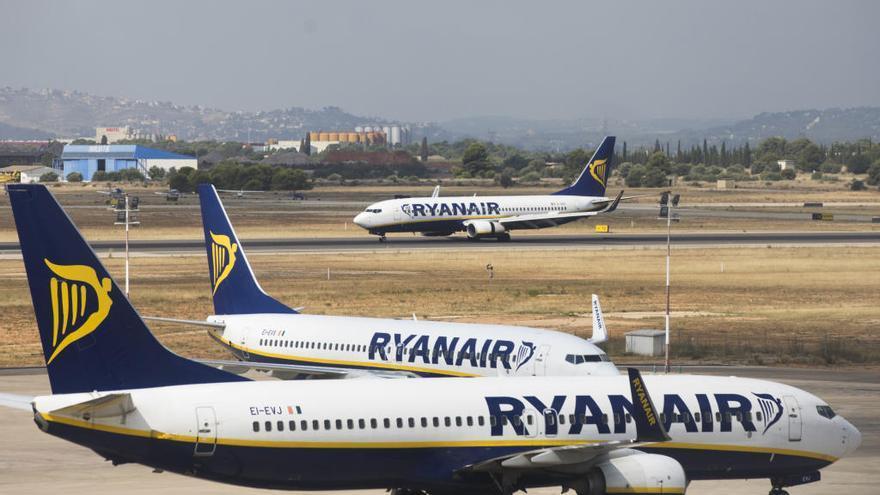 Ryanair anuncia tres nuevas rutas desde València en verano