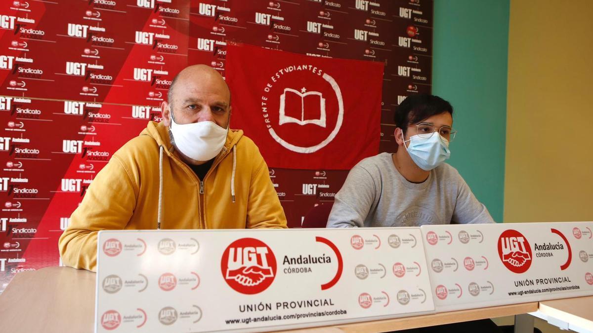 Juan Martínez y Pablo Fernández anuncian movilizaciones