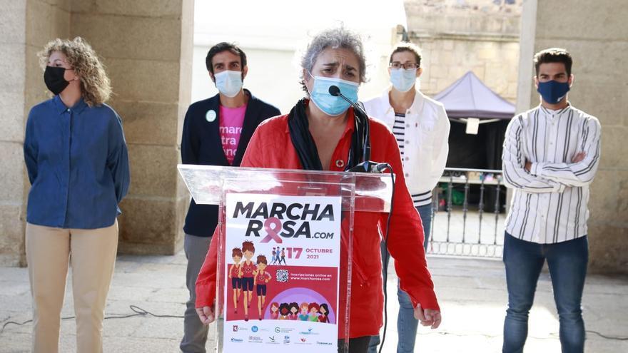 La Marcha Rosa se celebra este domingo con 2.000 participantes