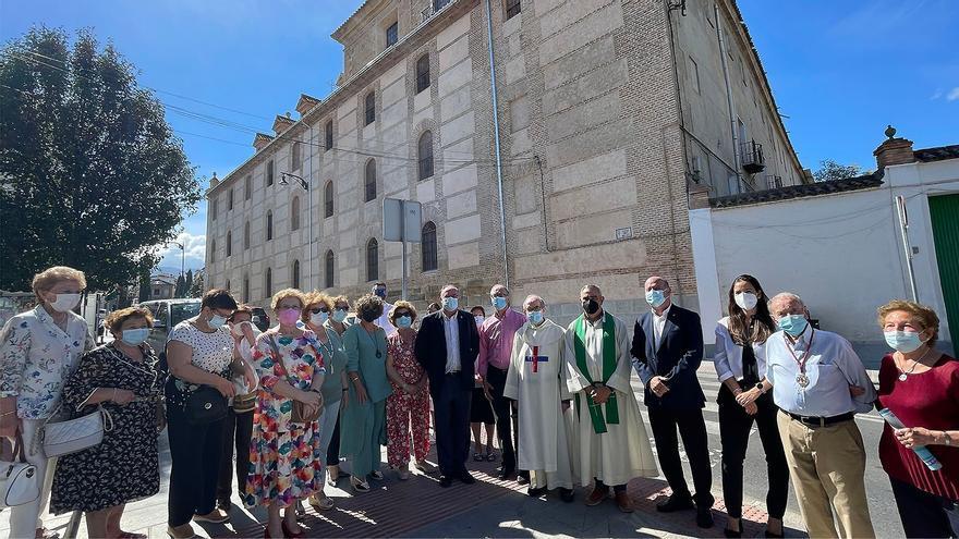 Concluyen las obras de restauración de la fachada lateral de la iglesia de la Trinidad de Antequera