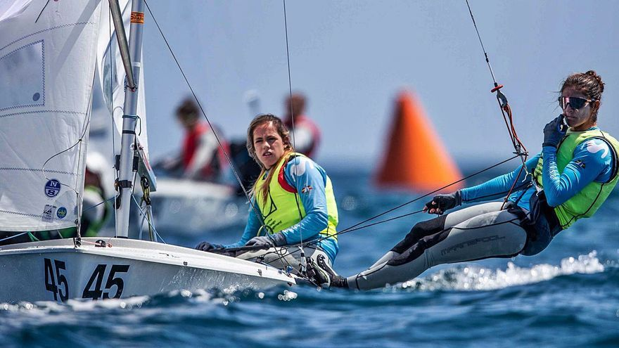 Cantero y Mas, sin podio en el Europeo de 470