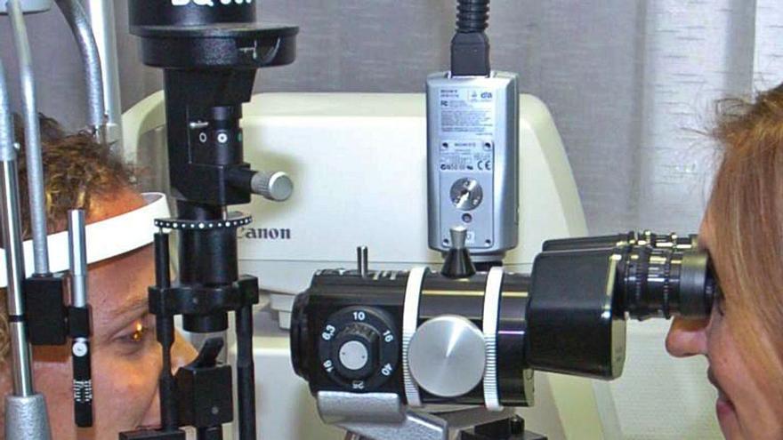 Las consultas oftalmológicas sufren  la mayor lista de espera en las Islas