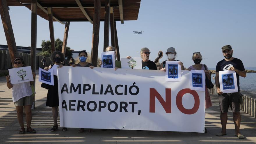 Las plataformas contra la ampliación del aeropuerto de Palma anuncian una «manifestación multitudinaria» para el día 19