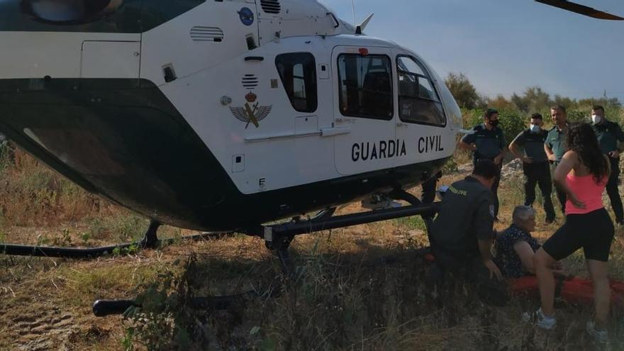 Hallan con quemaduras solares a una mujer de 85 años perdida en Orpesa