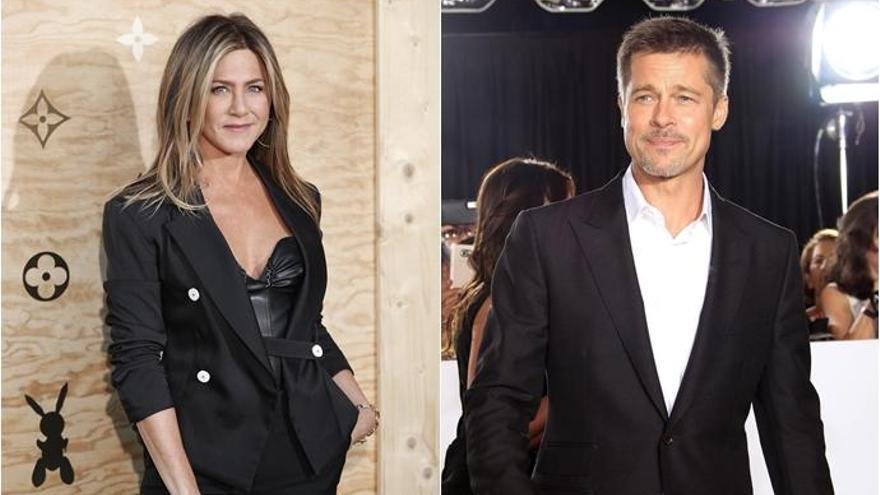 Jennifer Aniston y Brad Pitt, juntos en el cumpleaños de la actriz