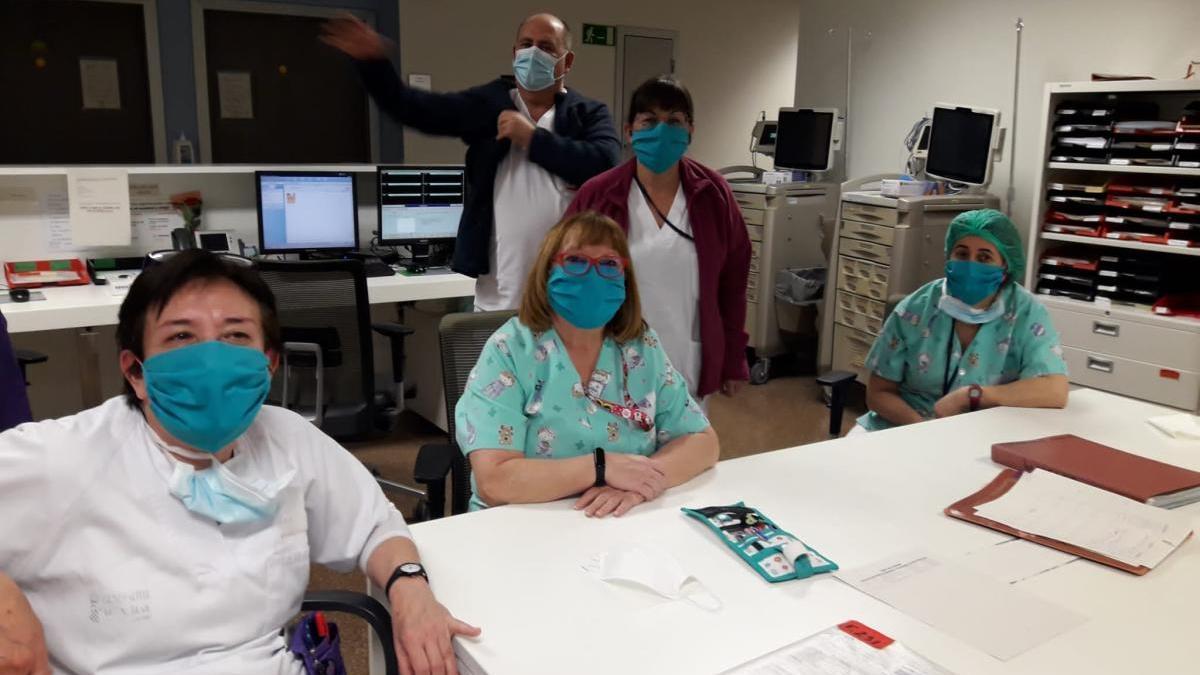 Voluntariado de Albal confecciona 1.500 máscaras