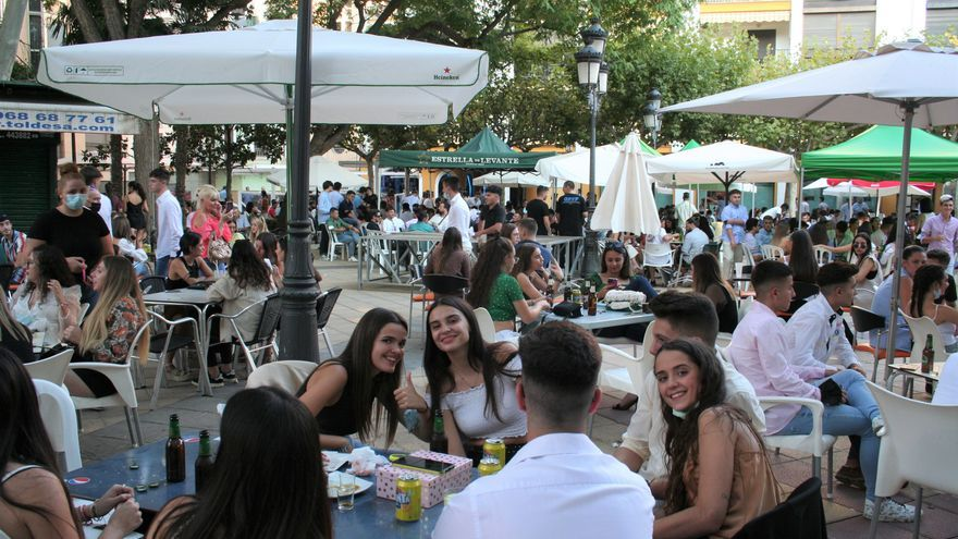 La gastronomía revitaliza el recinto histórico de la Feria de Lorca