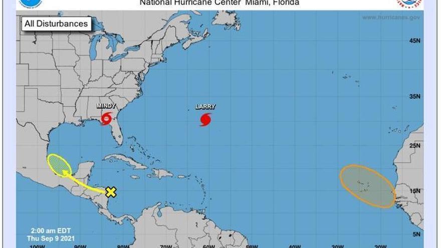 La Aemet vigila el ciclón tropical que se formará el sábado al sur de Canarias