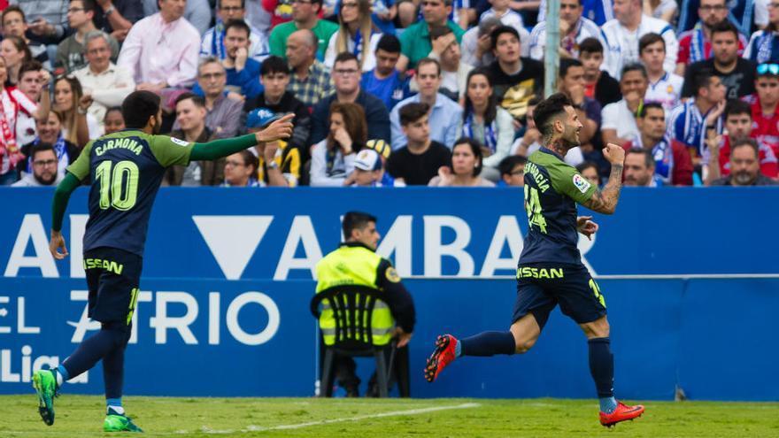 Cristian Álvarez frena al Sporting