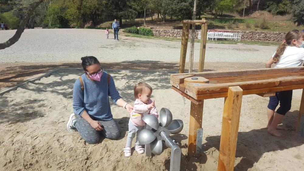 El nou espai infantil de Can Font