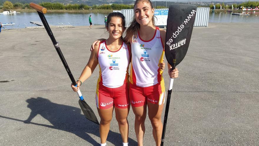 Claudia Couto y Lucía Graña, bronce en C2 200 en el Mundial Sub 23