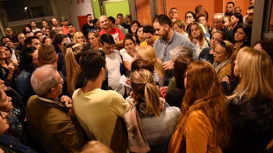 Colapso en el centro de Salud de San Antón tras el brote de hepatitis A